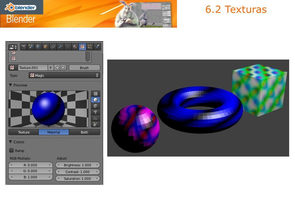 6.2 Texturas