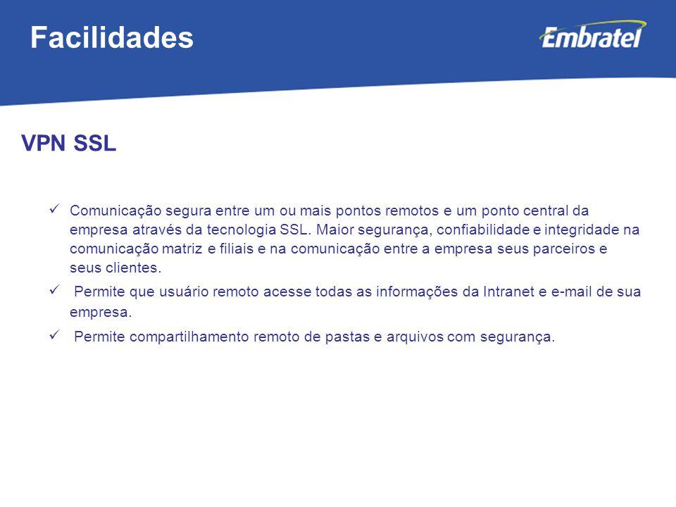 Facilidades VPN SSL.