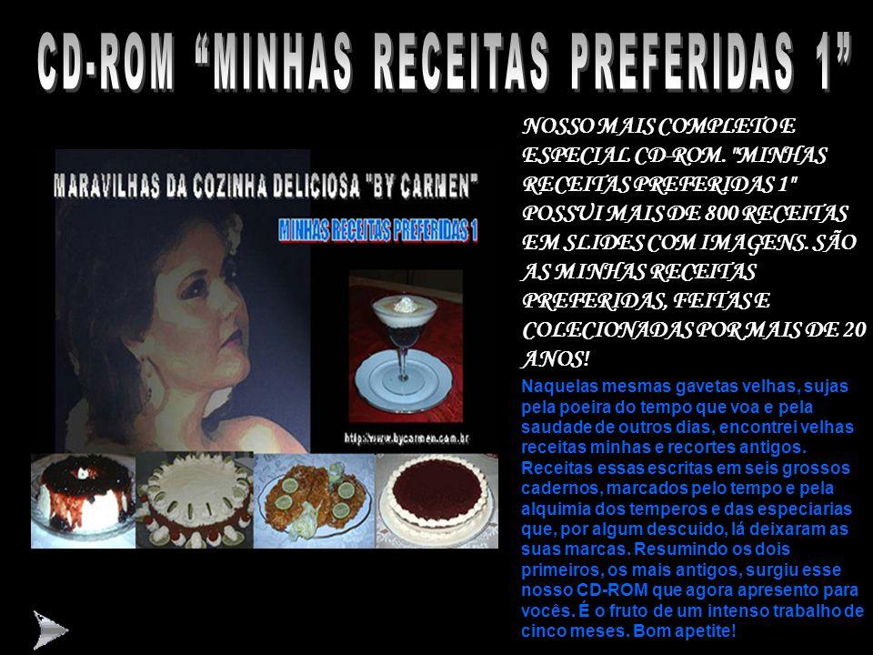 CD-ROM MINHAS RECEITAS PREFERIDAS 1