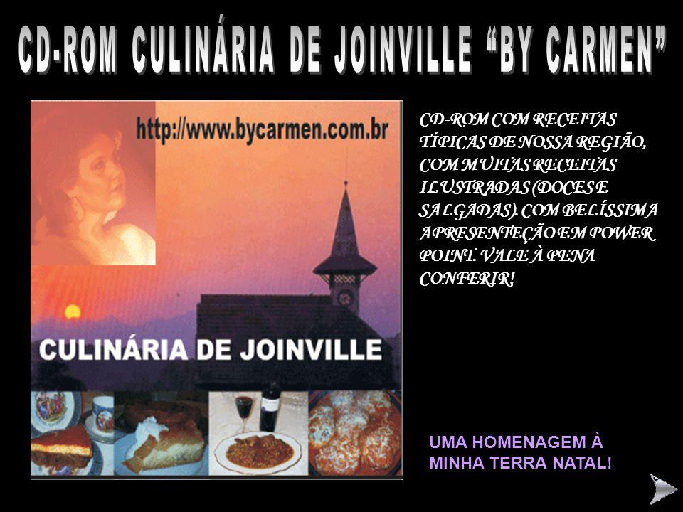 CD-ROM CULINÁRIA DE JOINVILLE BY CARMEN