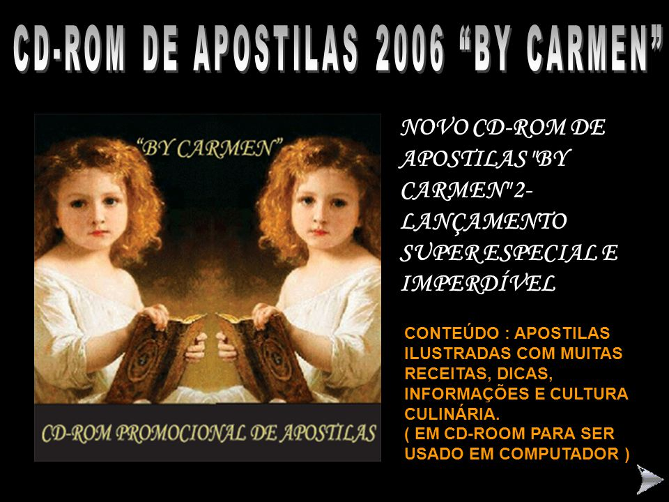 CD-ROM DE APOSTILAS 2006 BY CARMEN