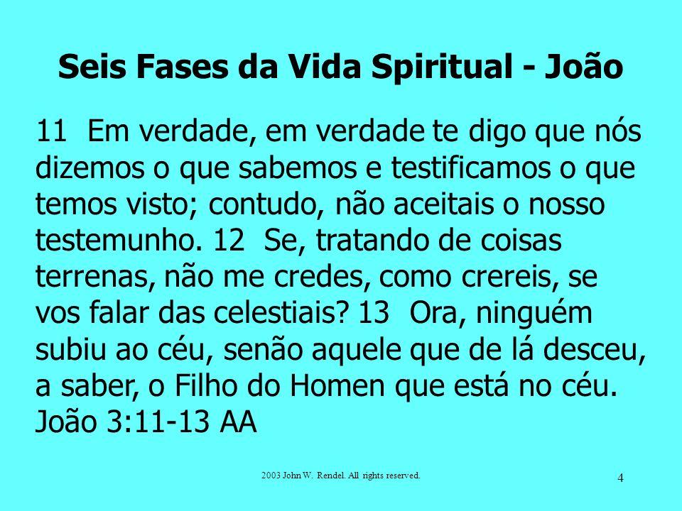 Seis Fases da Vida Spiritual - João