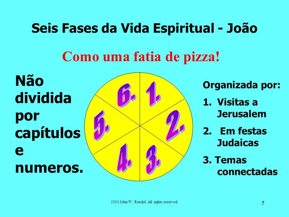 Seis Fases da Vida Espiritual - João