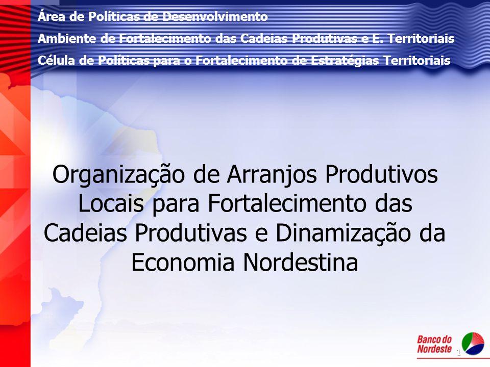 Área de Políticas de Desenvolvimento