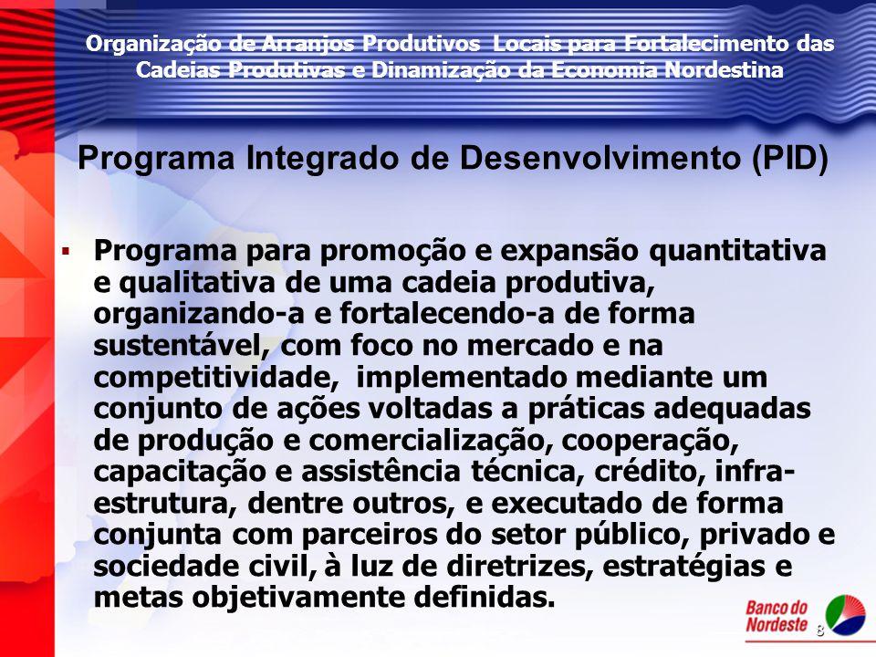 Programa Integrado de Desenvolvimento (PID)