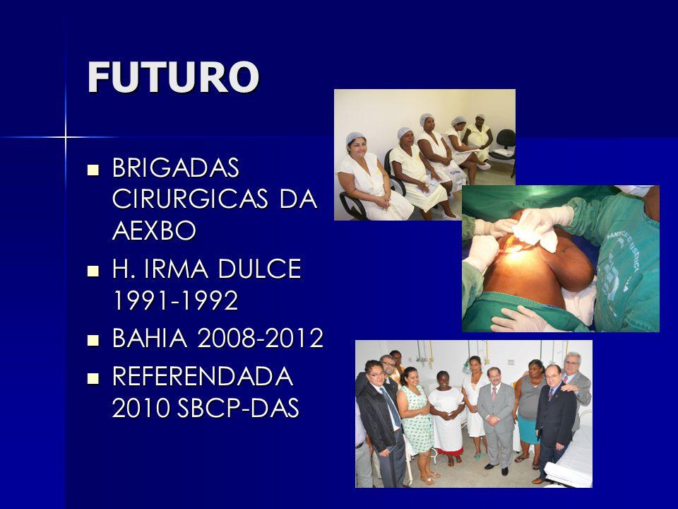 FUTURO BRIGADAS CIRURGICAS DA AEXBO H. IRMA DULCE 1991-1992