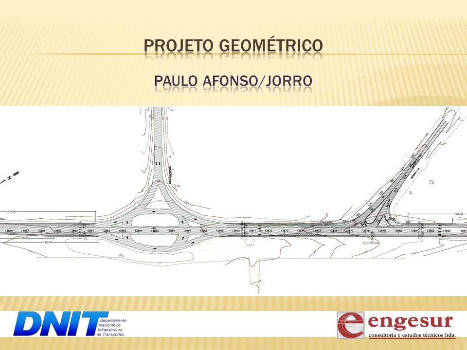 PROJETO GEOMÉTRICO PAULO AFONSO/JORRO