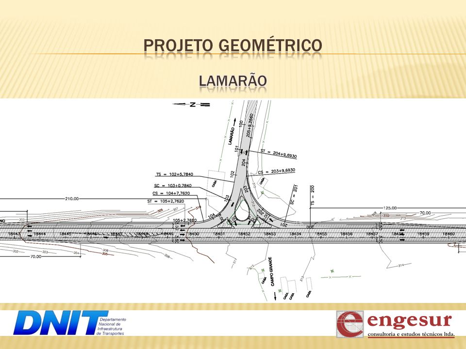 PROJETO GEOMÉTRICO LAMARÃO