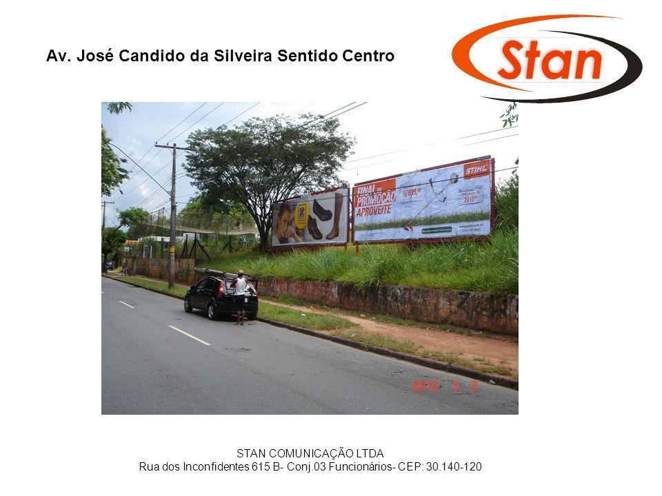 Av. José Candido da Silveira Sentido Centro