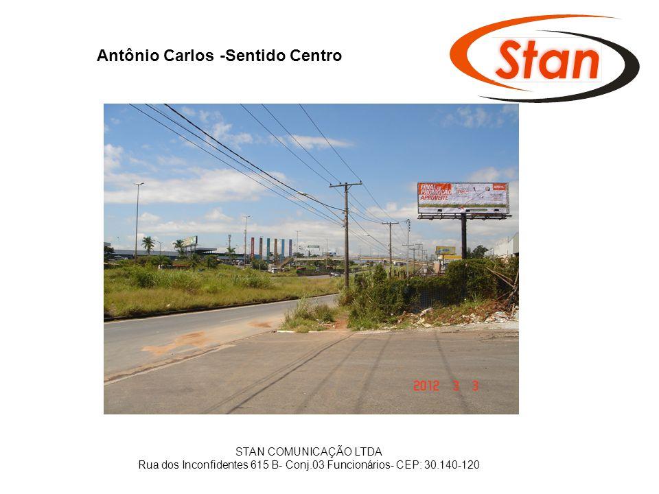 Antônio Carlos -Sentido Centro