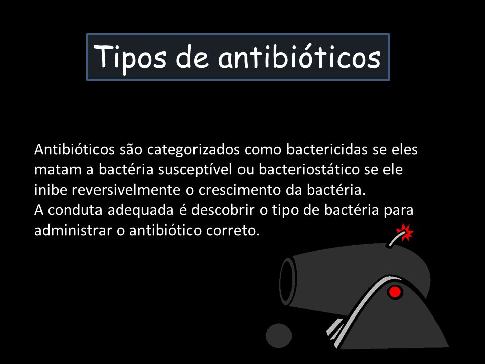Tipos de antibióticos