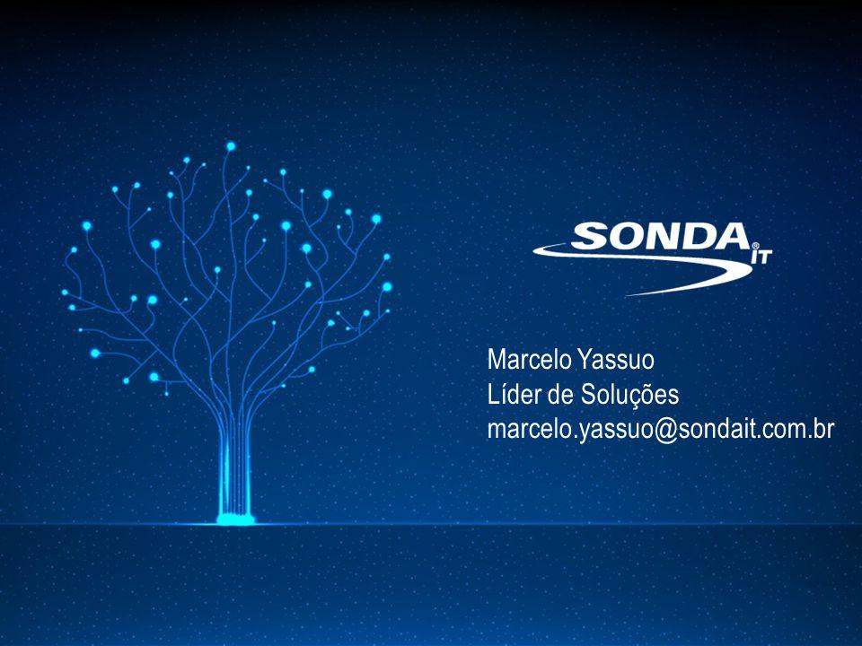 Marcelo Yassuo Líder de Soluções marcelo.yassuo@sondait.com.br