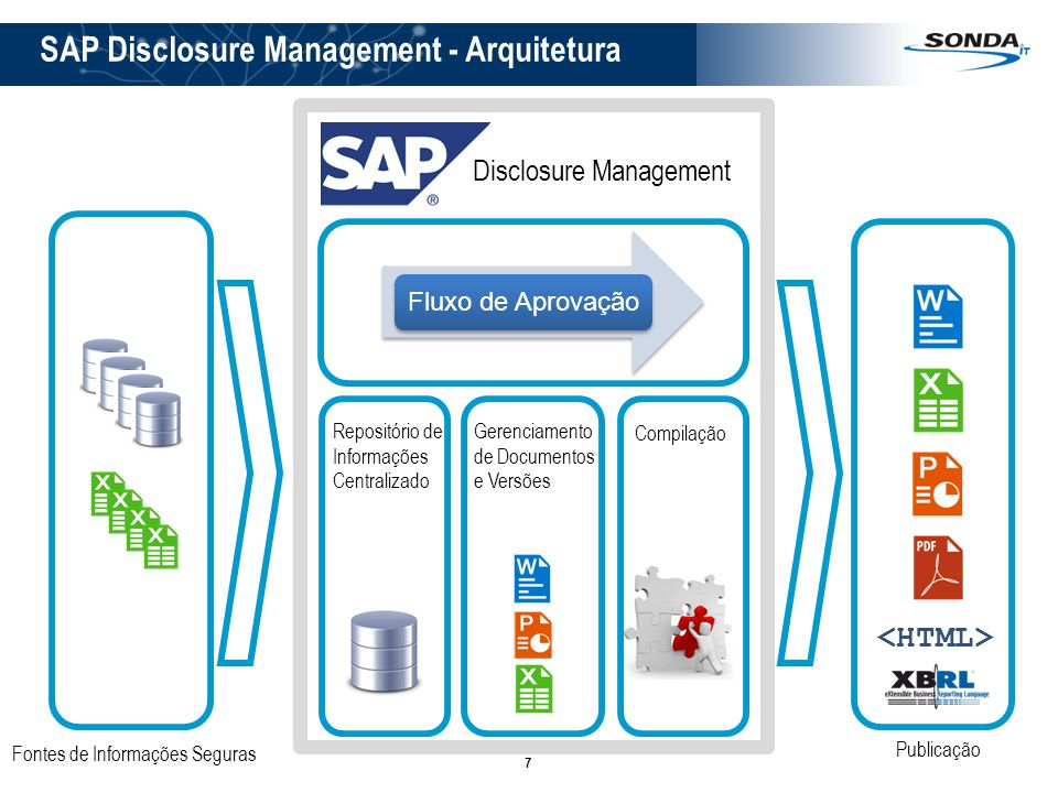 SAP Disclosure Management - Arquitetura