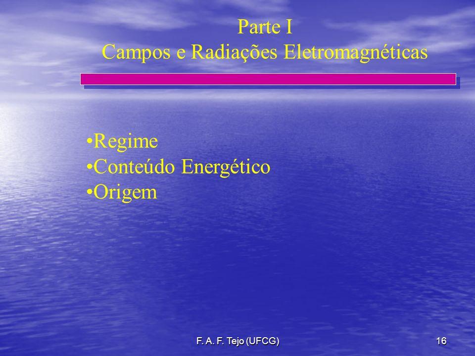 Campos e Radiações Eletromagnéticas