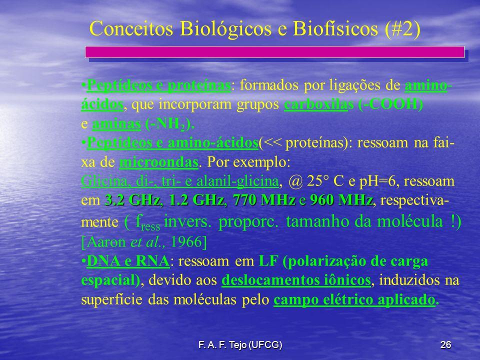 Conceitos Biológicos e Biofísicos (#2)