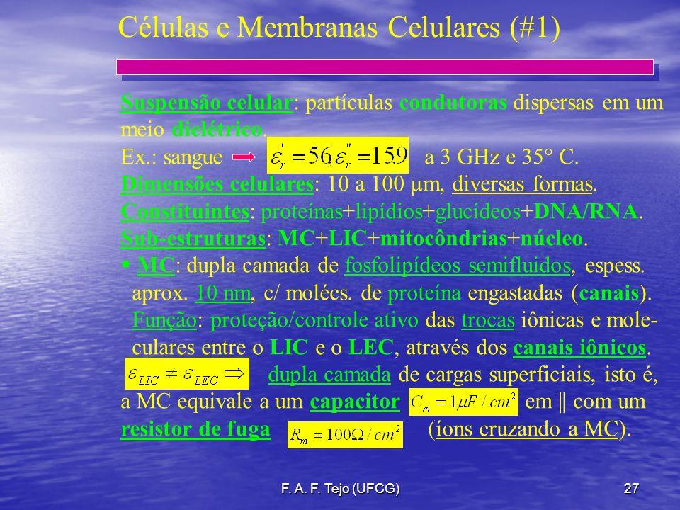 Células e Membranas Celulares (#1)