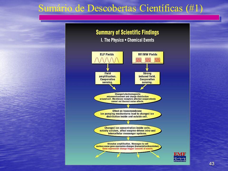 Sumário de Descobertas Científicas (#1)