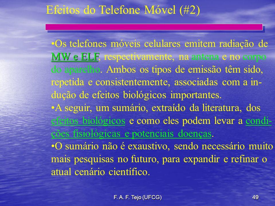 Efeitos do Telefone Móvel (#2)