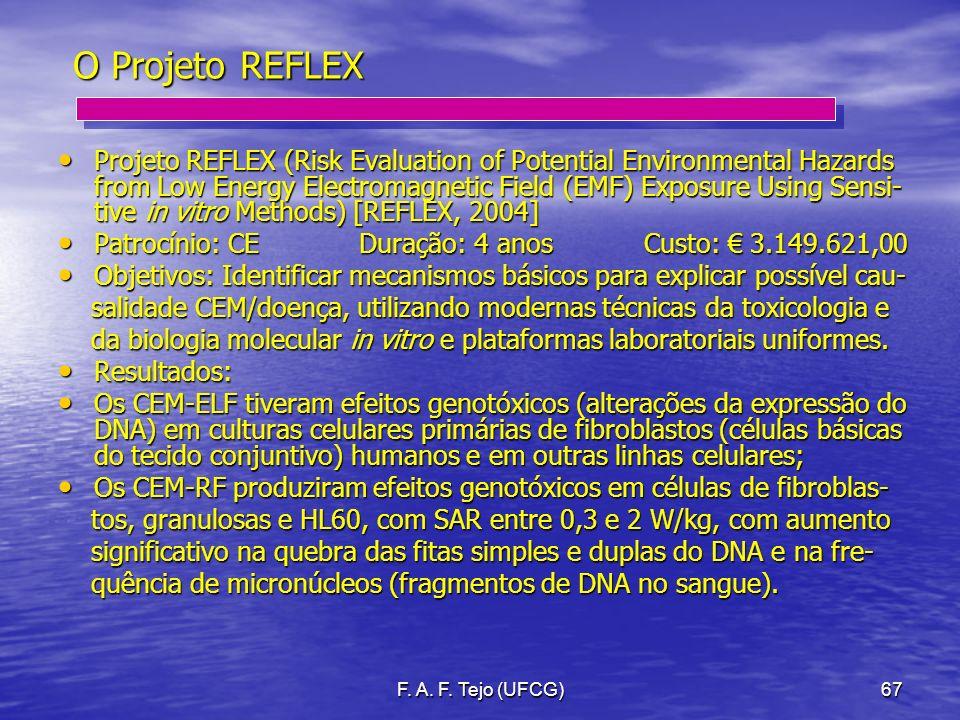 O Projeto REFLEX