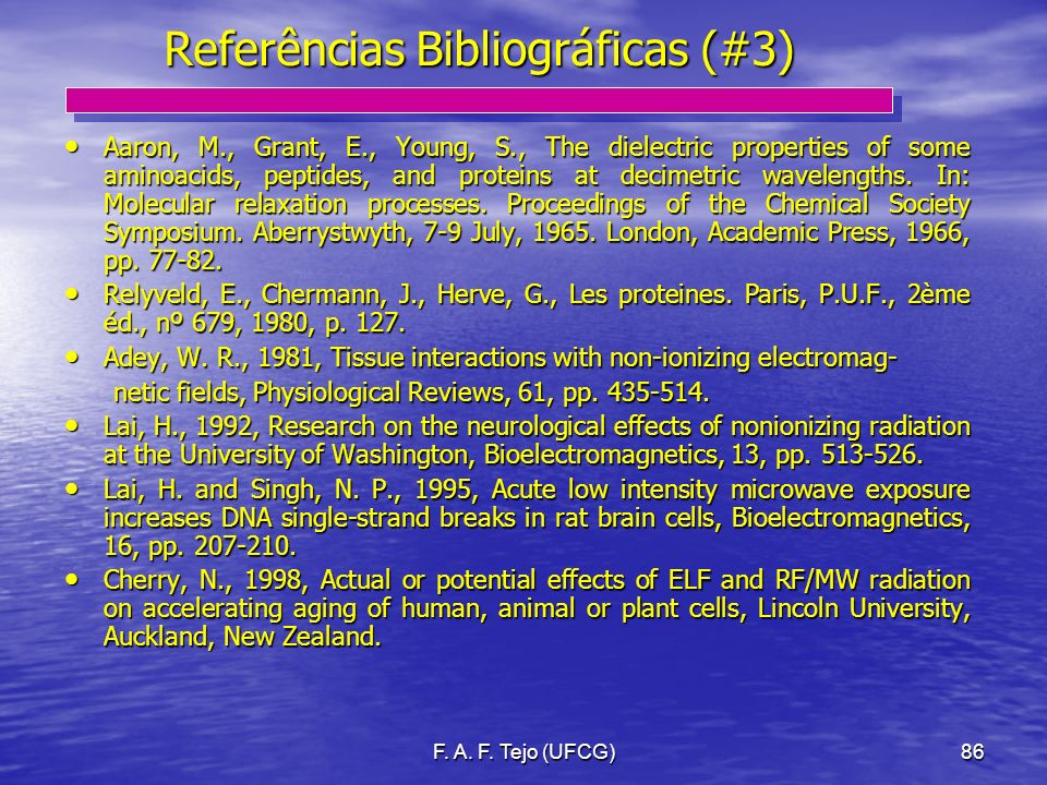 Referências Bibliográficas (#3)