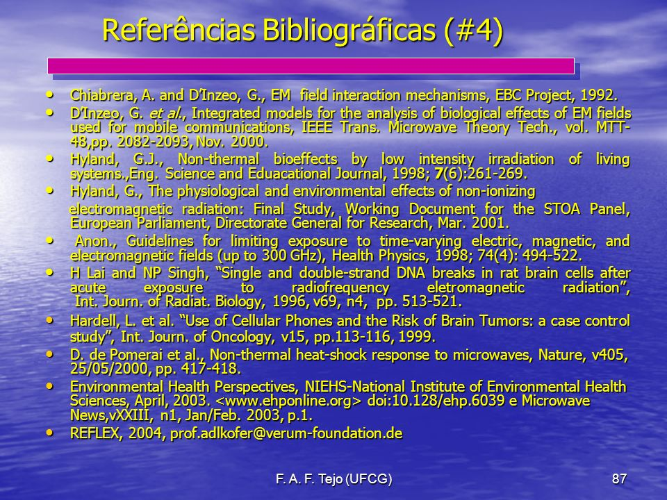 Referências Bibliográficas (#4)