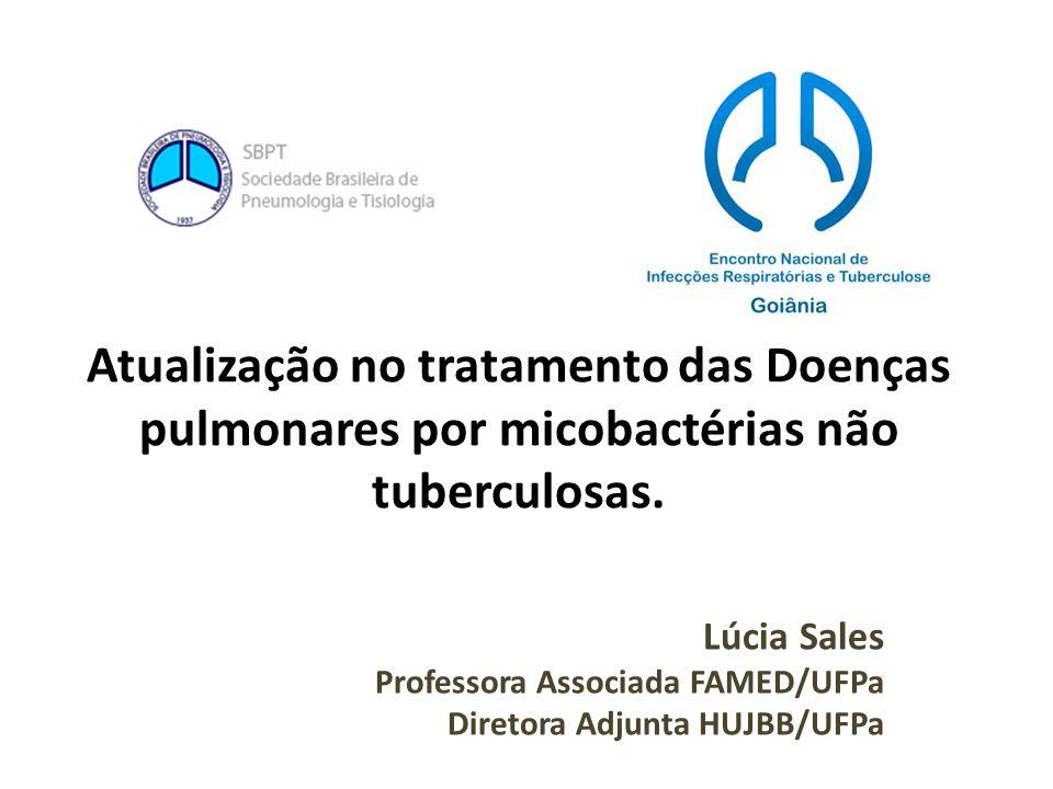 Atualização no tratamento das Doenças pulmonares por micobactérias não tuberculosas.