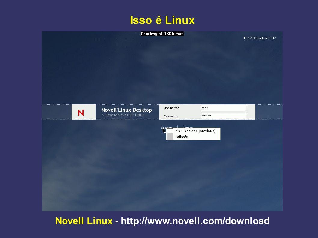 Novell Linux - http://www.novell.com/download