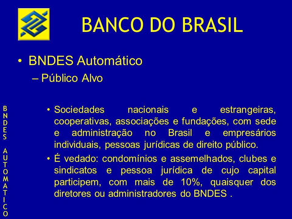 BNDES Automático Público Alvo