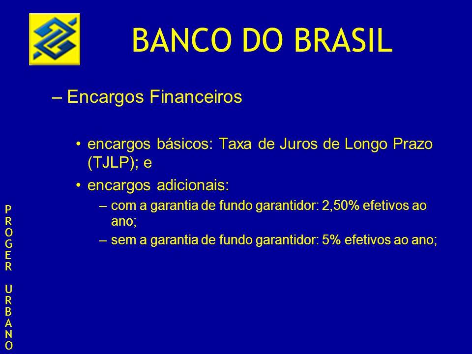 Encargos Financeiros encargos básicos: Taxa de Juros de Longo Prazo (TJLP); e. encargos adicionais: