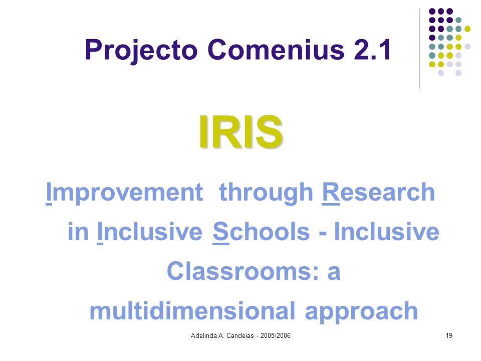 IRIS Projecto Comenius 2.1