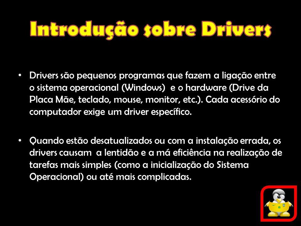 Introdução sobre Drivers