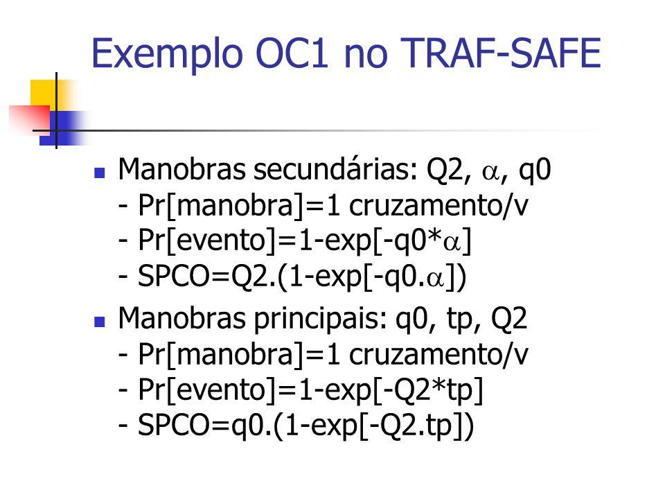 Exemplo OC1 no TRAF-SAFE