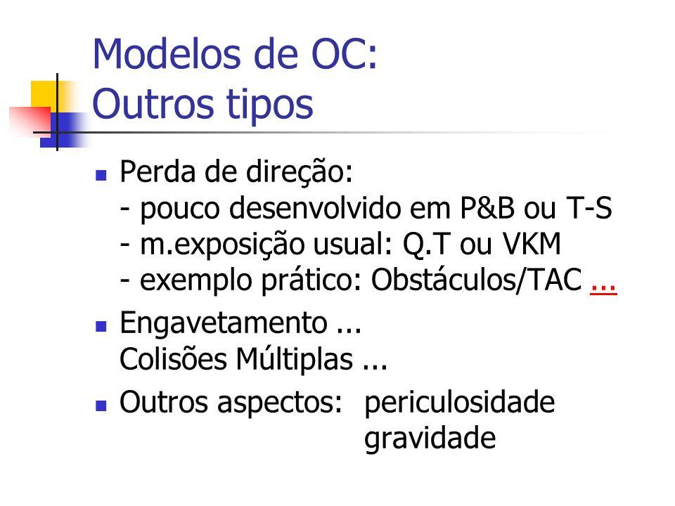 Modelos de OC: Outros tipos