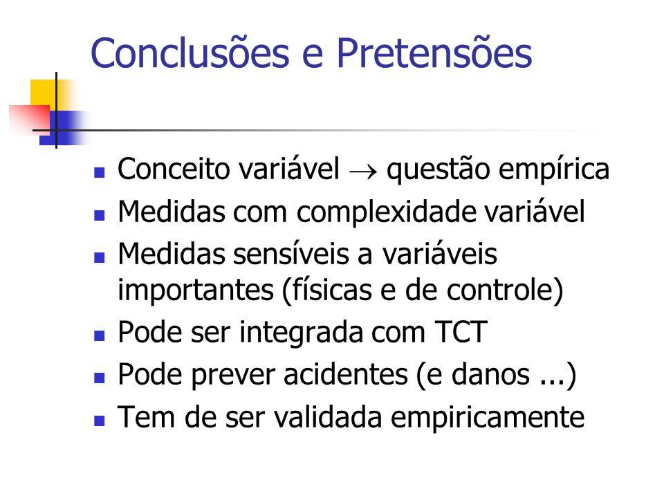 Conclusões e Pretensões