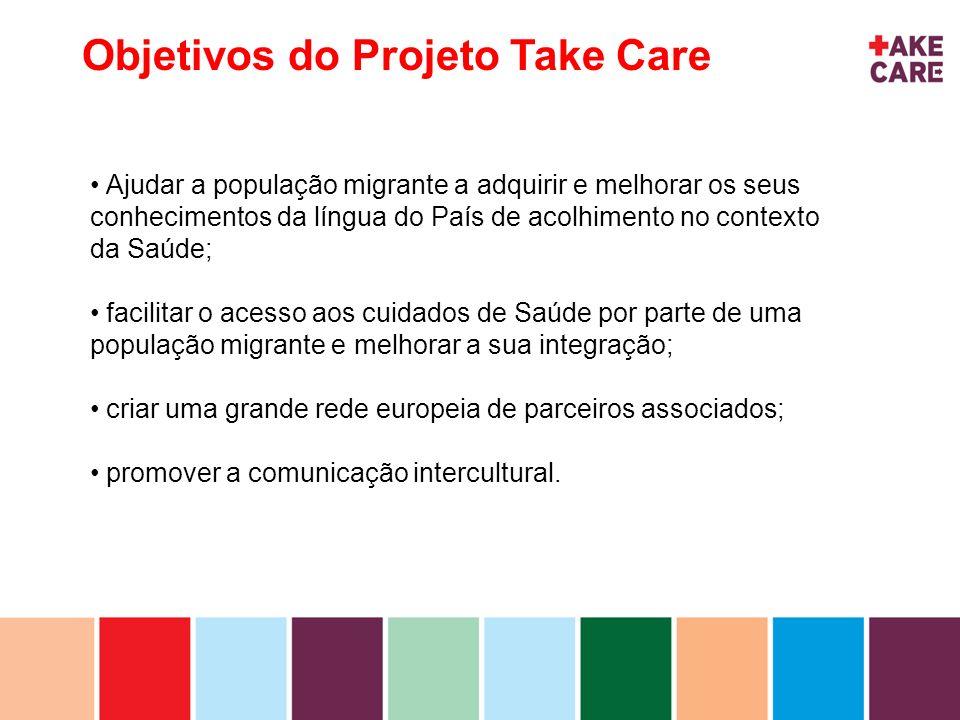 Objetivos do Projeto Take Care