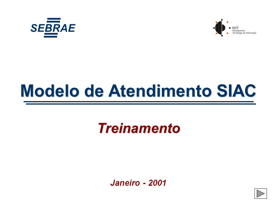 Modelo de Atendimento SIAC