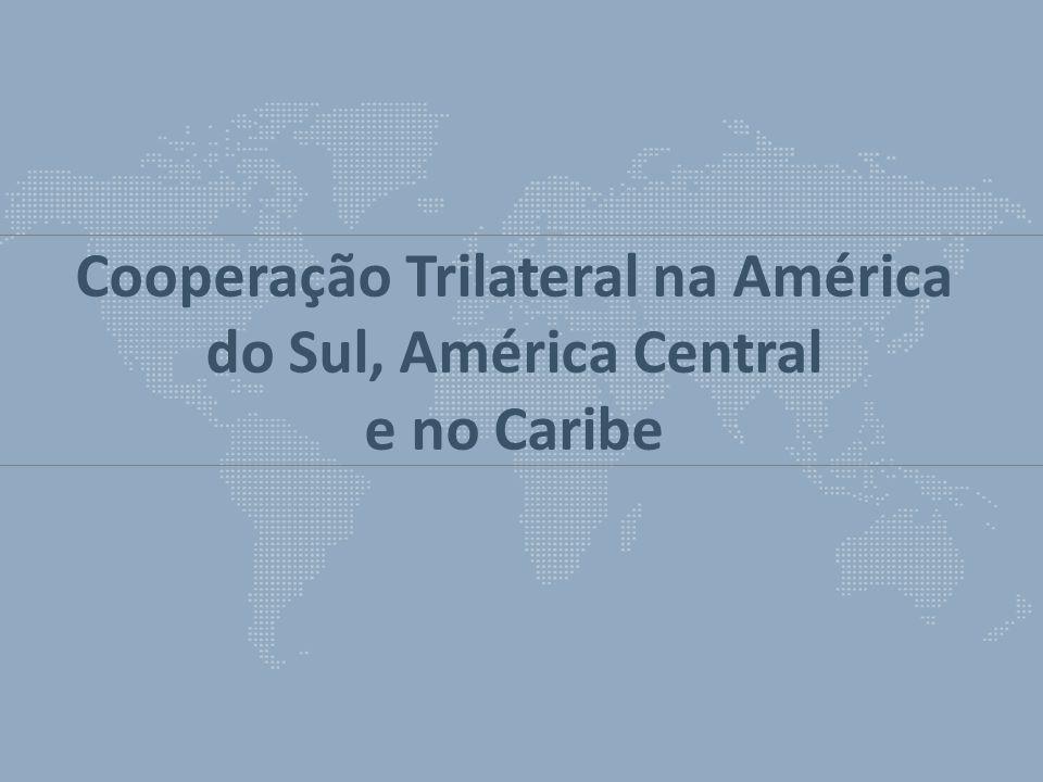 Cooperação Trilateral na América do Sul, América Central e no Caribe