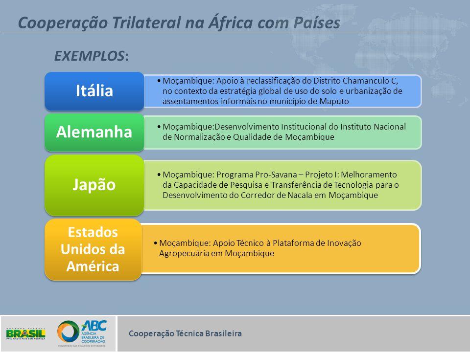 Cooperação Trilateral na África com Países
