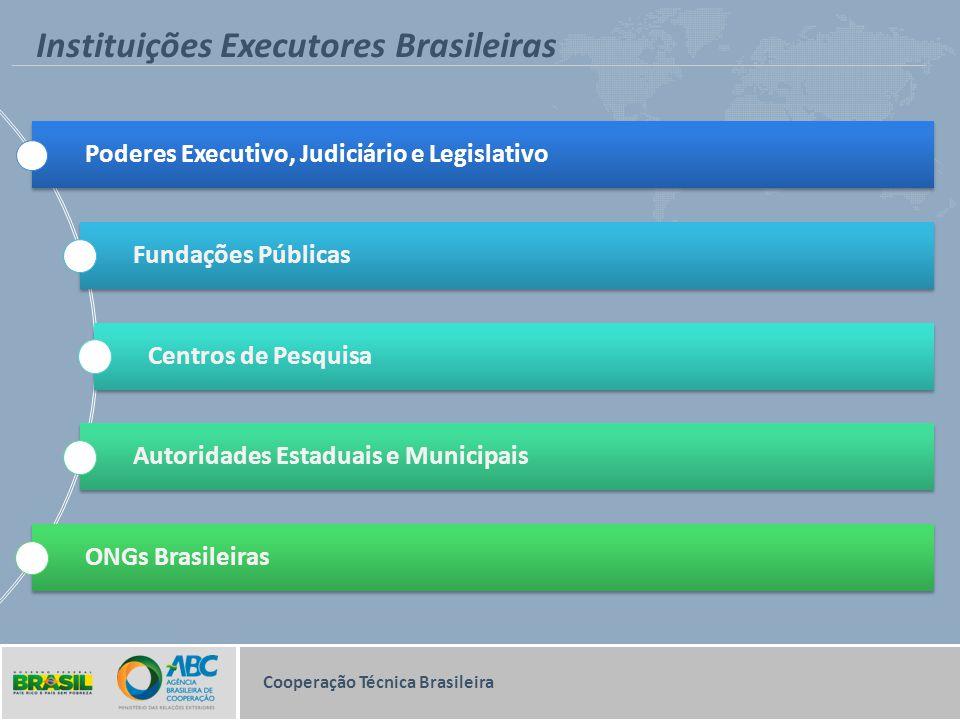 Instituições Executores Brasileiras