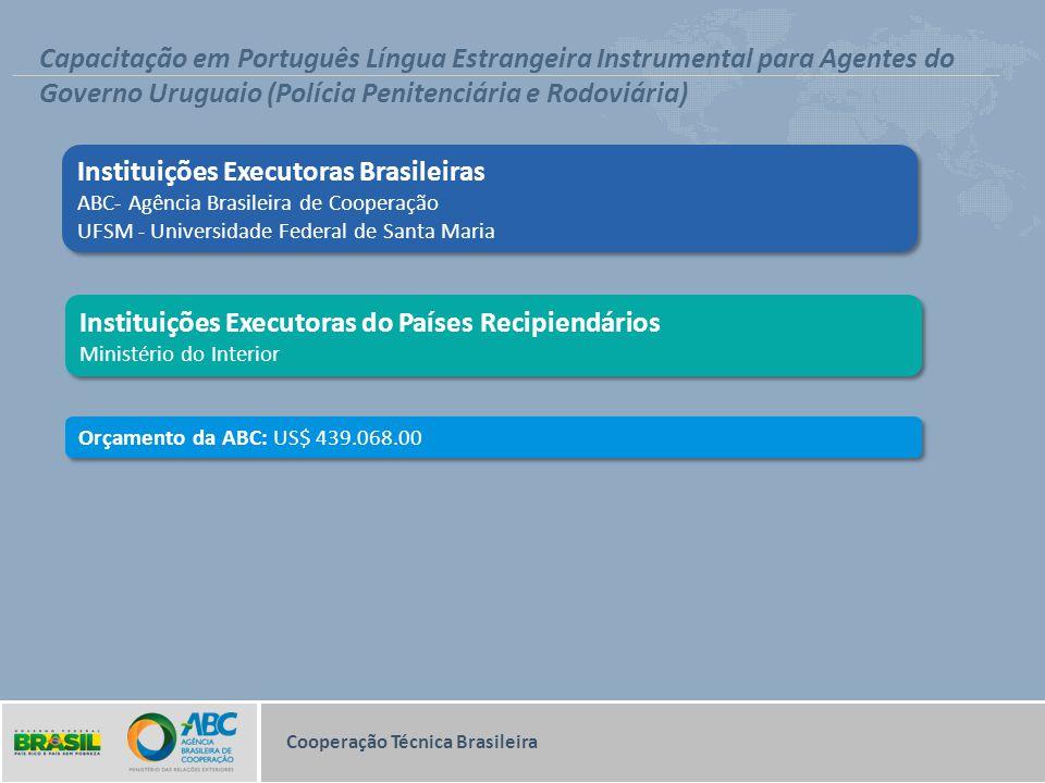Governo Uruguaio (Polícia Penitenciária e Rodoviária)