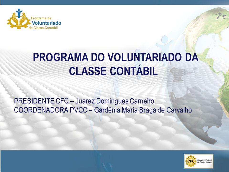 PROGRAMA DO VOLUNTARIADO DA CLASSE CONTÁBIL