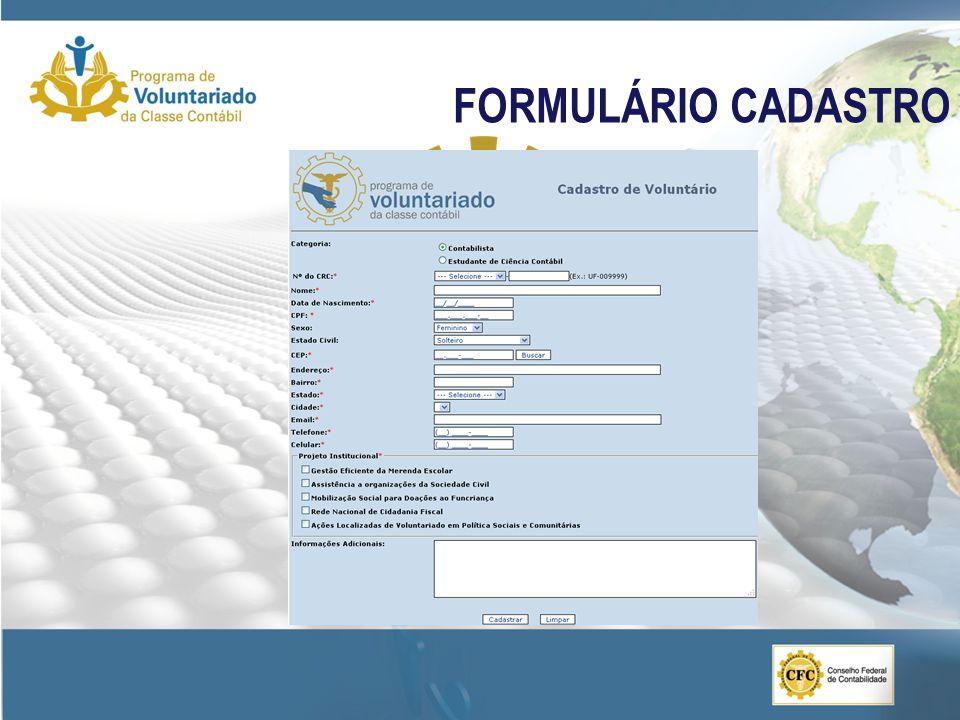FORMULÁRIO CADASTRO 20