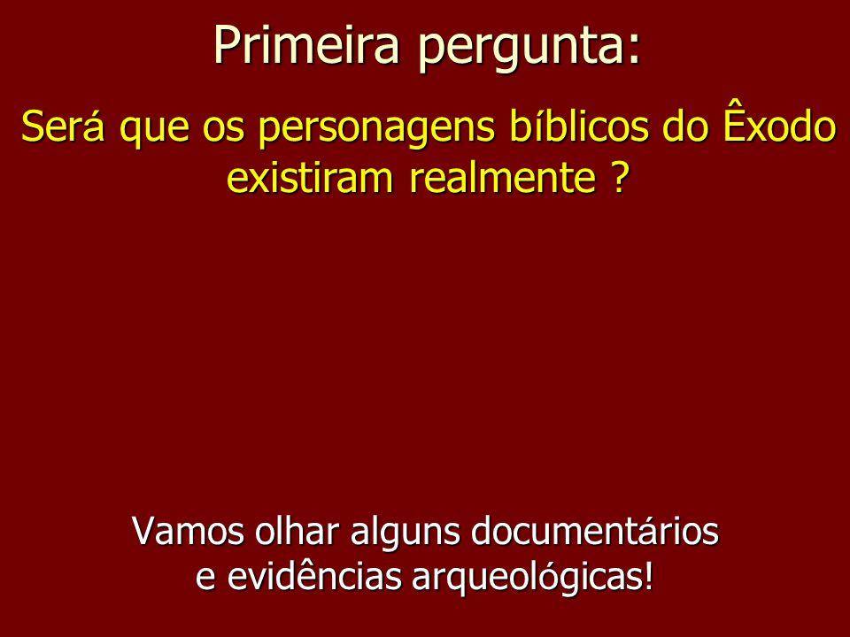 Vamos olhar alguns documentários e evidências arqueológicas!