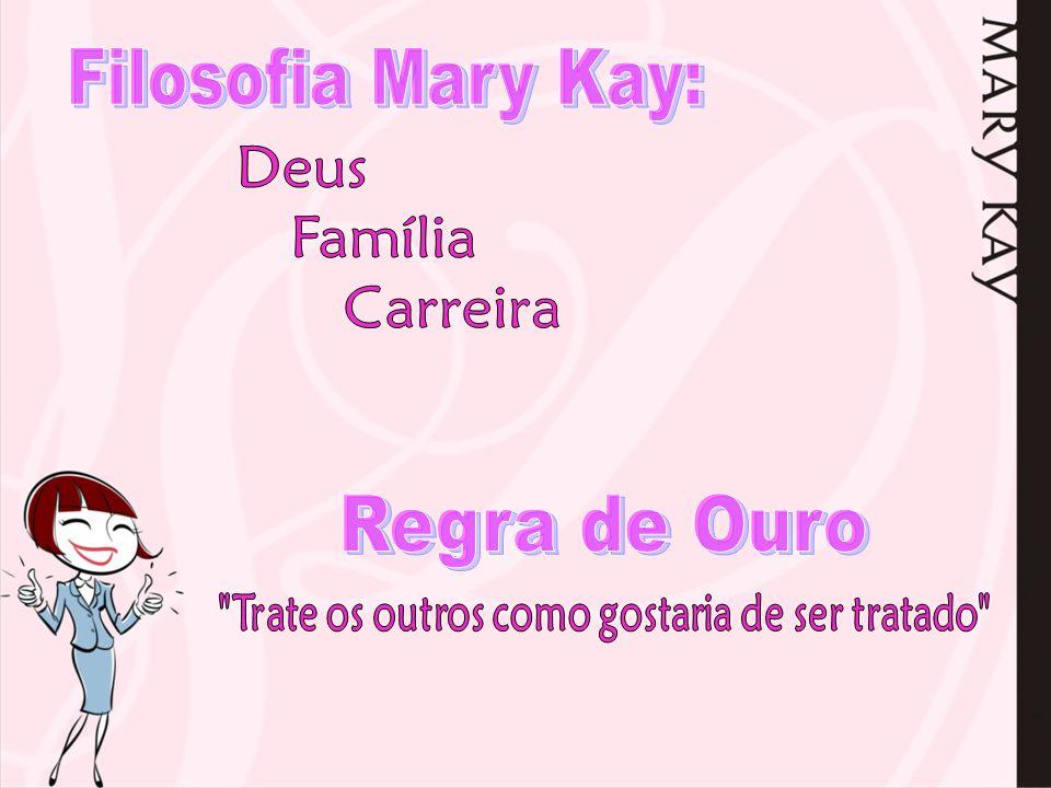 Filosofia Mary Kay: Regra de Ouro Deus Família Carreira