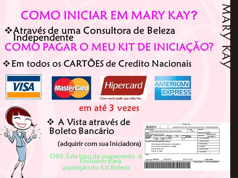 COMO INICIAR EM MARY KAY