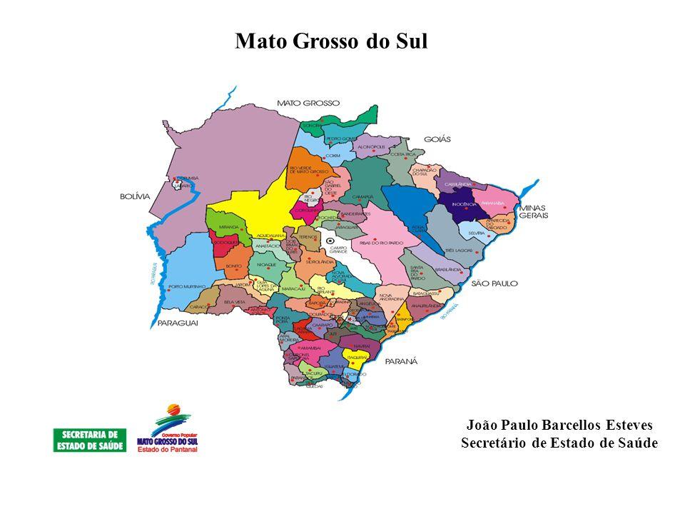 João Paulo Barcellos Esteves Secretário de Estado de Saúde