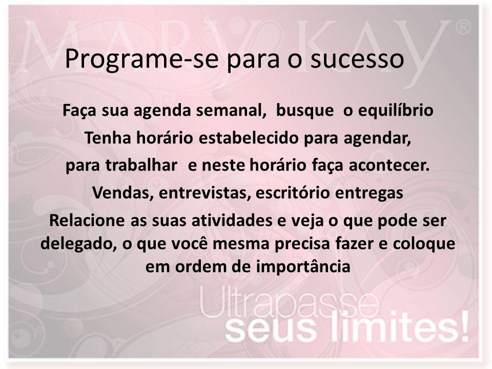 Programe-se para o sucesso