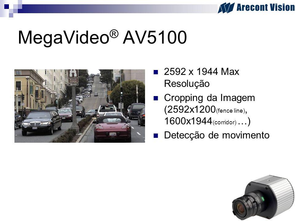 MegaVideo® AV5100 2592 x 1944 Max Resolução