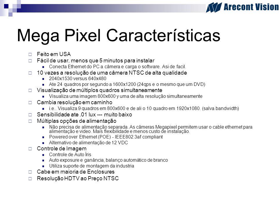 Mega Pixel Características