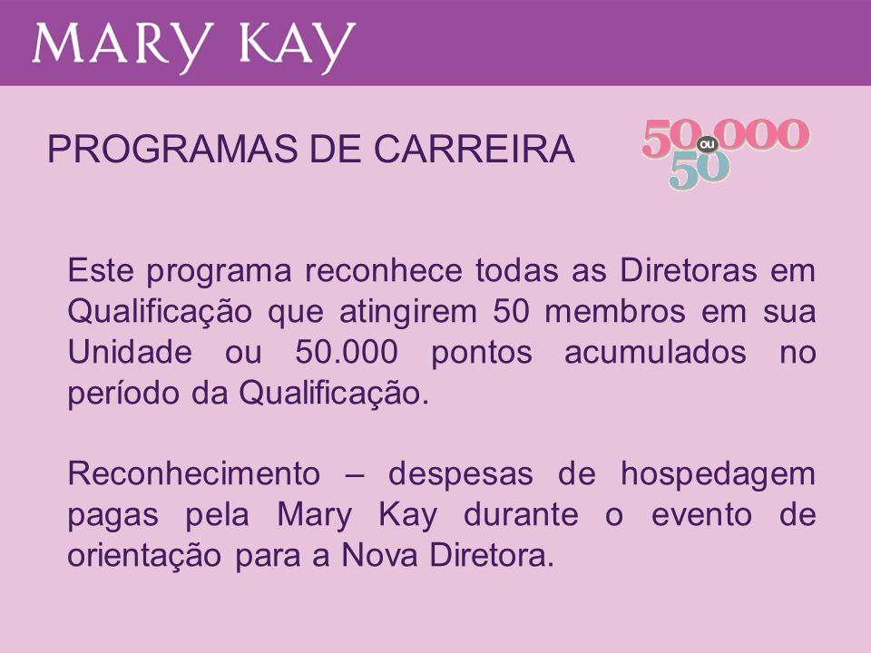 PROGRAMAS DE CARREIRA